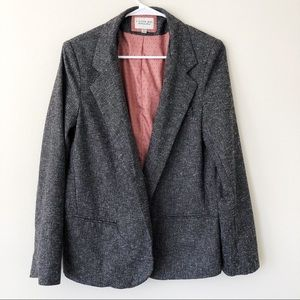 I Love H81 Gray Heathered Business Casual Blazer